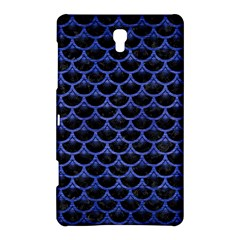 Scales3 Black Marble & Blue Brushed Metal Samsung Galaxy Tab S (8 4 ) Hardshell Case  by trendistuff