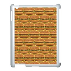 Delicious Burger Pattern Apple Ipad 3/4 Case (white) by berwies