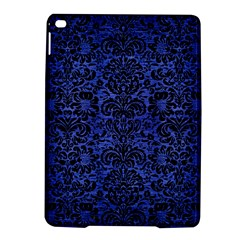 Damask2 Black Marble & Blue Brushed Metal (r) Apple Ipad Air 2 Hardshell Case by trendistuff