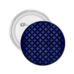 Circles3 Black Marble & Blue Brushed Metal (r) 2 25  Button by trendistuff