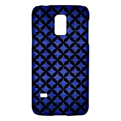 Circles3 Black Marble & Blue Brushed Metal (r) Samsung Galaxy S5 Mini Hardshell Case  by trendistuff