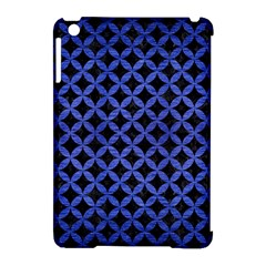 Circles3 Black Marble & Blue Brushed Metal Apple Ipad Mini Hardshell Case (compatible With Smart Cover) by trendistuff