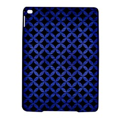 Circles3 Black Marble & Blue Brushed Metal Apple Ipad Air 2 Hardshell Case by trendistuff