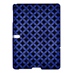 Circles3 Black Marble & Blue Brushed Metal Samsung Galaxy Tab S (10 5 ) Hardshell Case  by trendistuff