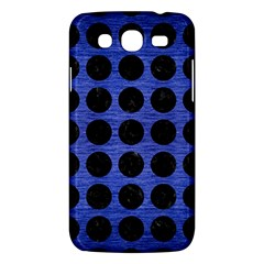 Circles1 Black Marble & Blue Brushed Metal (r) Samsung Galaxy Mega 5 8 I9152 Hardshell Case  by trendistuff