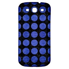 Circles1 Black Marble & Blue Brushed Metal Samsung Galaxy S3 S Iii Classic Hardshell Back Case by trendistuff