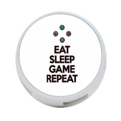 Eat Sleep Game Repeat 4 Port Usb Hub (two Sides)