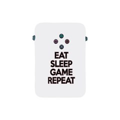 Eat Sleep Game Repeat Apple Ipad Mini Protective Soft Cases by Valentinaart