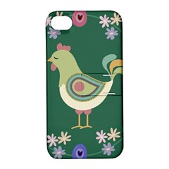 Easter Apple Iphone 4/4s Hardshell Case With Stand by Valentinaart