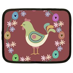 Easter Netbook Case (xl)  by Valentinaart