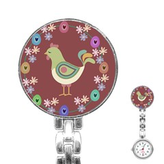 Easter Stainless Steel Nurses Watch by Valentinaart