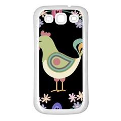 Easter Samsung Galaxy S3 Back Case (white) by Valentinaart