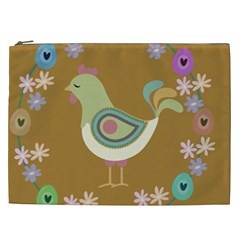 Easter Cosmetic Bag (xxl)  by Valentinaart