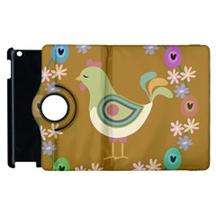 Easter Apple Ipad 2 Flip 360 Case by Valentinaart
