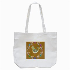 Easter Tote Bag (white) by Valentinaart