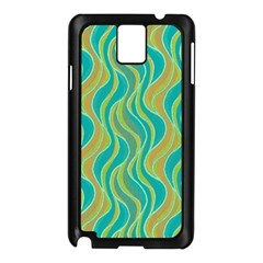 Pattern Samsung Galaxy Note 3 N9005 Case (black) by Valentinaart