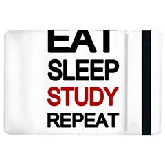 Eat Sleep Study Repeat Ipad Air 2 Flip
