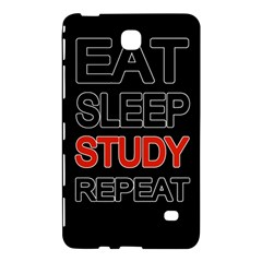 Eat Sleep Study Repeat Samsung Galaxy Tab 4 (8 ) Hardshell Case  by Valentinaart