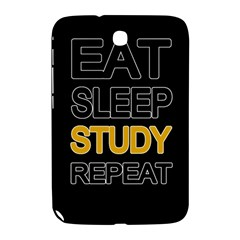 Eat Sleep Study Repeat Samsung Galaxy Note 8 0 N5100 Hardshell Case