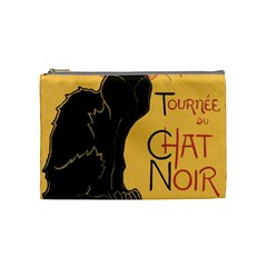 Black Cat Cosmetic Bag (medium)