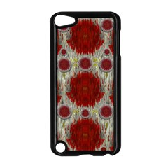 Paint On Water Falls,in Peace And Calm Apple Ipod Touch 5 Case (black) by pepitasart
