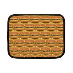 Delicious Burger Pattern Netbook Case (small)  by berwies