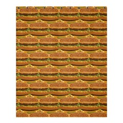 Delicious Burger Pattern Shower Curtain 60  X 72  (medium)  by berwies