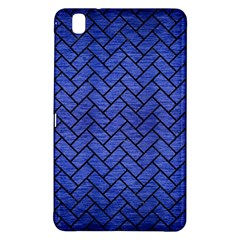 Brick2 Black Marble & Blue Brushed Metal (r) Samsung Galaxy Tab Pro 8 4 Hardshell Case by trendistuff