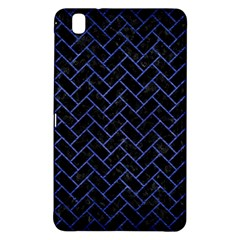 Brick2 Black Marble & Blue Brushed Metal Samsung Galaxy Tab Pro 8 4 Hardshell Case by trendistuff