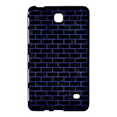 Brick1 Black Marble & Blue Brushed Metal Samsung Galaxy Tab 4 (8 ) Hardshell Case  by trendistuff