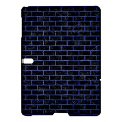Brick1 Black Marble & Blue Brushed Metal Samsung Galaxy Tab S (10 5 ) Hardshell Case  by trendistuff