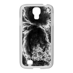 Space Samsung Galaxy S4 I9500/ I9505 Case (white) by Valentinaart
