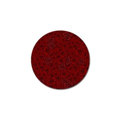 Red Roses Field Golf Ball Marker by designworld65
