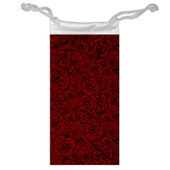 Red Roses Field Jewelry Bag by designworld65