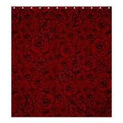 Red Roses Field Shower Curtain 66  X 72  (large)  by designworld65