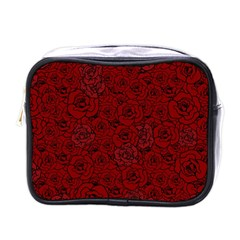 Red Roses Field Mini Toiletries Bags