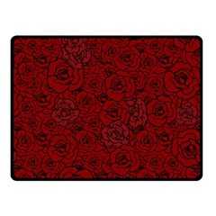 Red Roses Field Fleece Blanket (small) by designworld65
