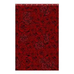 Red Roses Field Shower Curtain 48  X 72  (small)  by designworld65