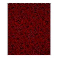 Red Roses Field Shower Curtain 60  X 72  (medium)  by designworld65