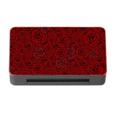 Red Roses Field Memory Card Reader With Cf by designworld65