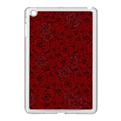 Red Roses Field Apple Ipad Mini Case (white) by designworld65