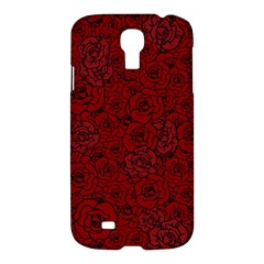 Red Roses Field Samsung Galaxy S4 I9500/i9505 Hardshell Case by designworld65
