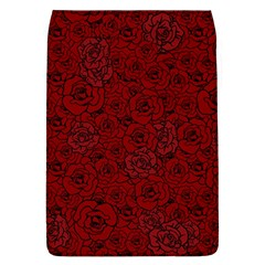Red Roses Field Flap Covers (l)  by designworld65