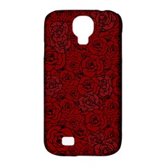 Red Roses Field Samsung Galaxy S4 Classic Hardshell Case (pc+silicone) by designworld65