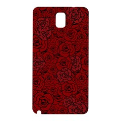 Red Roses Field Samsung Galaxy Note 3 N9005 Hardshell Back Case