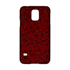 Red Roses Field Samsung Galaxy S5 Hardshell Case  by designworld65