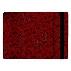 Red Roses Field Samsung Galaxy Tab Pro 12 2  Flip Case by designworld65