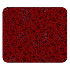 Red Roses Field Double Sided Flano Blanket (small)  by designworld65