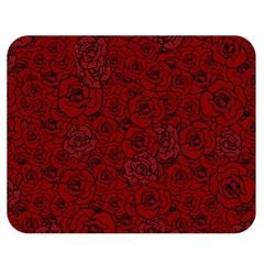 Red Roses Field Double Sided Flano Blanket (medium)  by designworld65