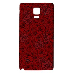 Red Roses Field Galaxy Note 4 Back Case